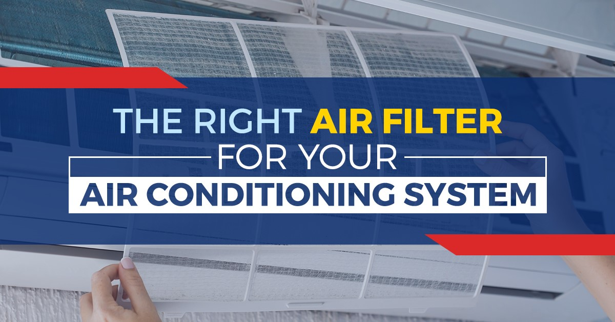 Air Filter For Your Air Conditioning System